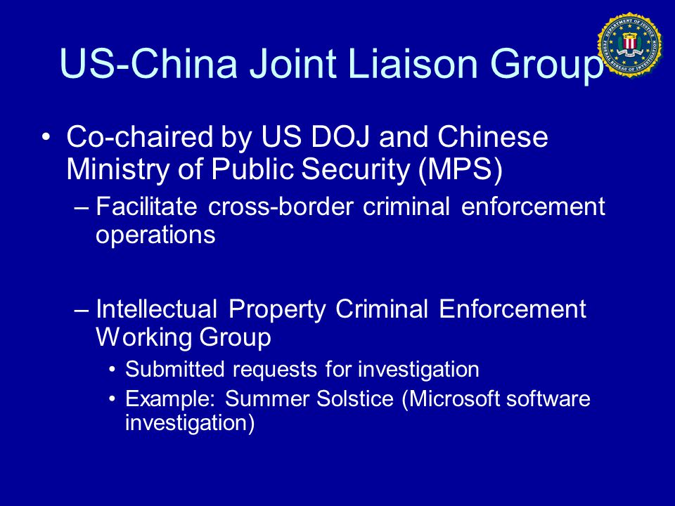 US-China Joint Liaison Group