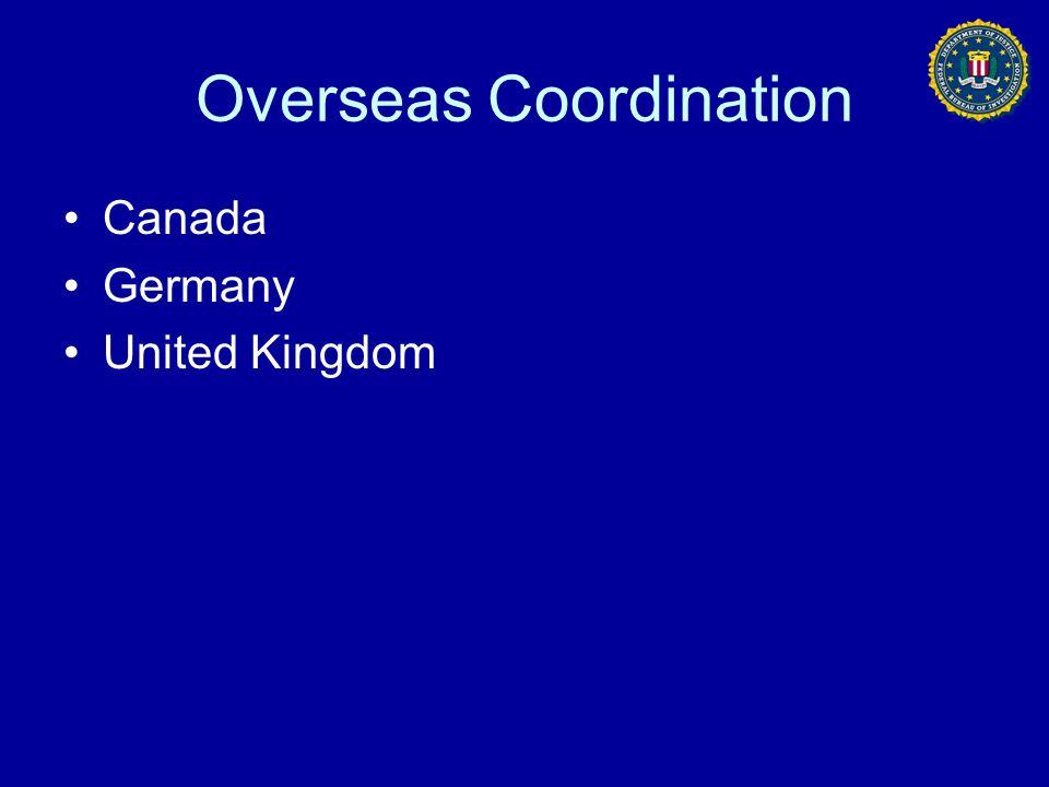 Overseas Coordination
