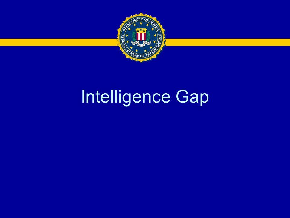 Intelligence Gap
