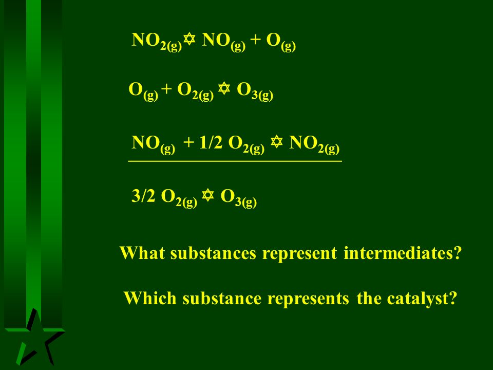What substances represent intermediates