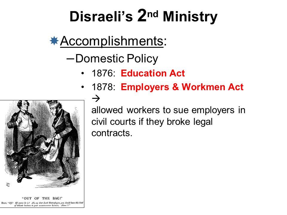 Disraeli's 2nd Ministry