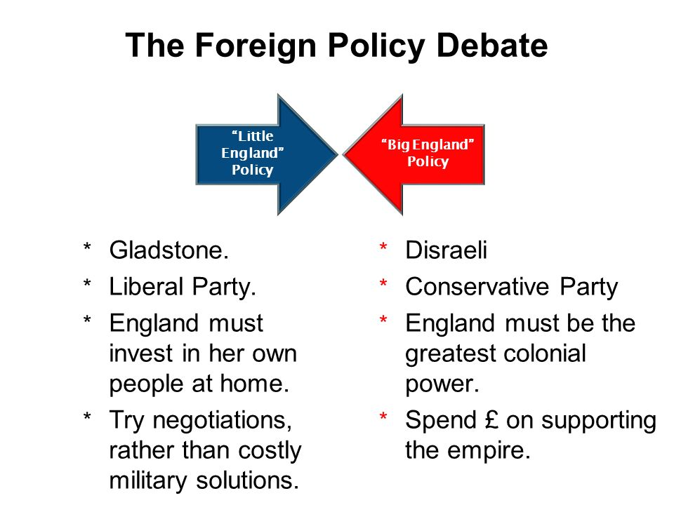 The Foreign Policy Debate
