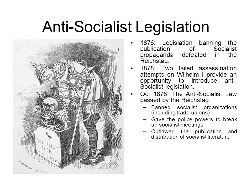 Anti-Socialist Legislation