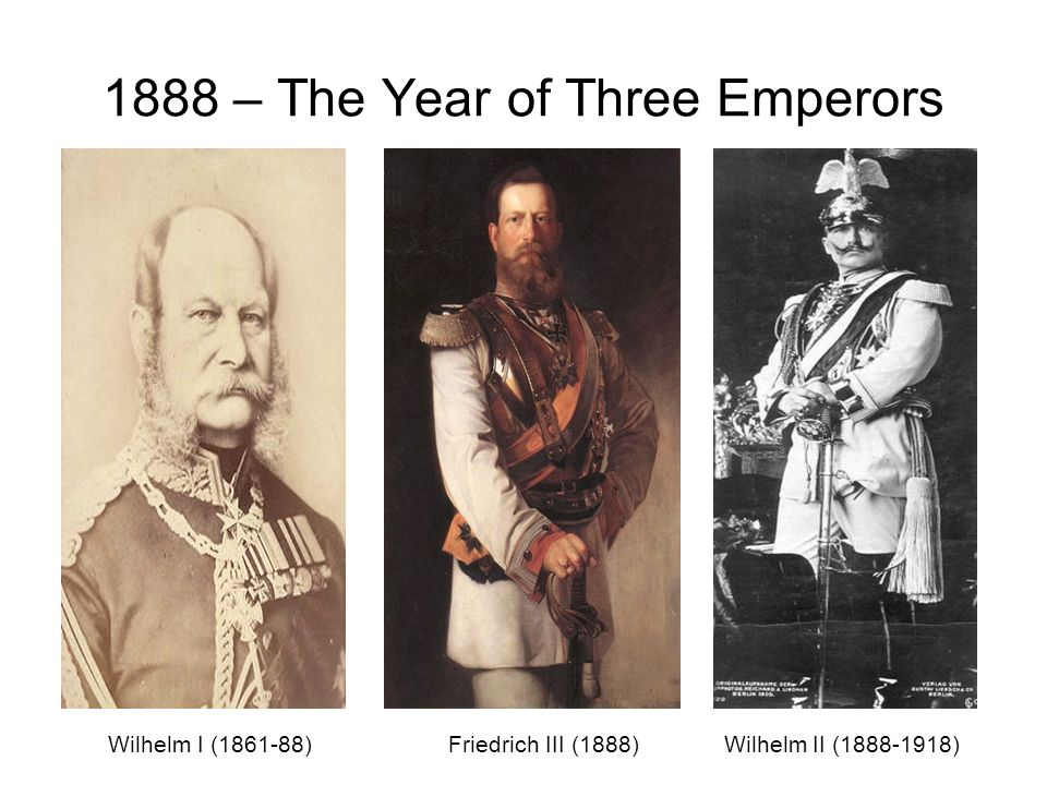 1888 – The Year of Three Emperors
