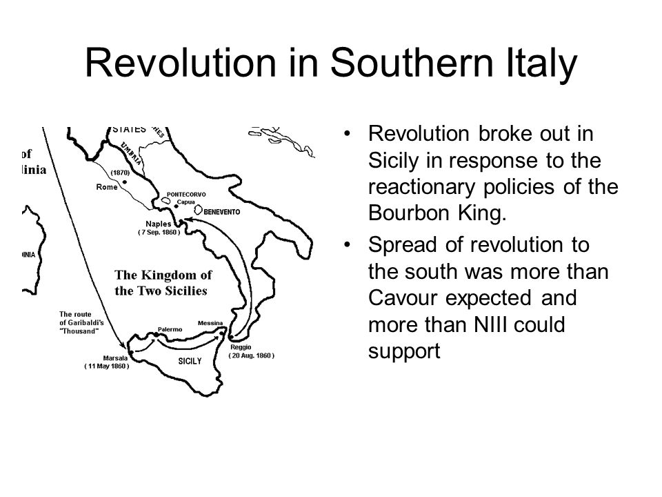 Revolution in Southern Italy