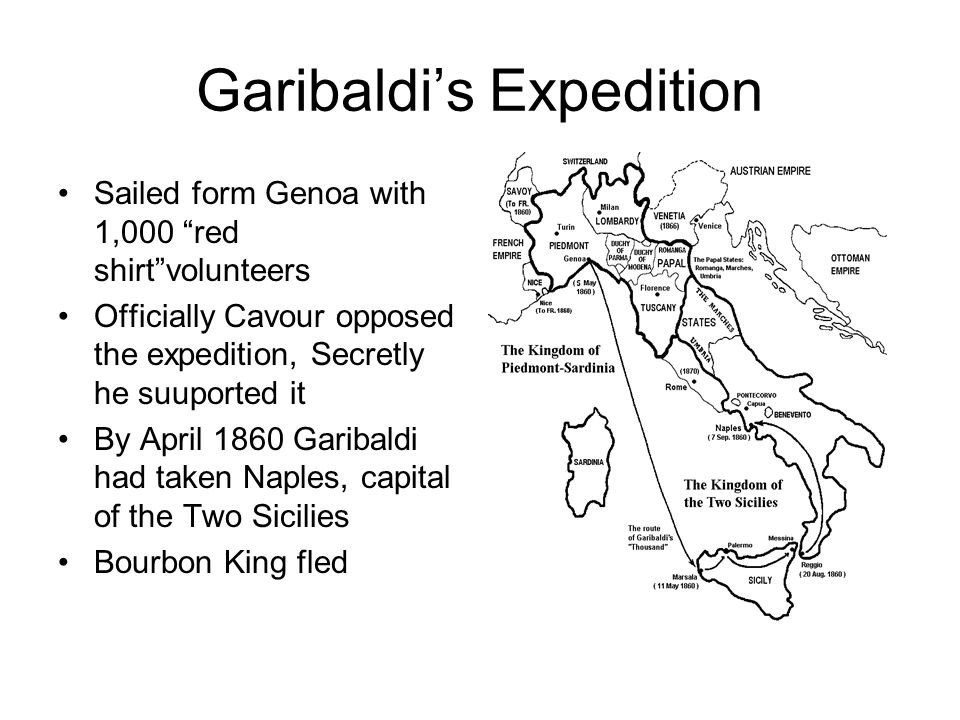Garibaldi's Expedition
