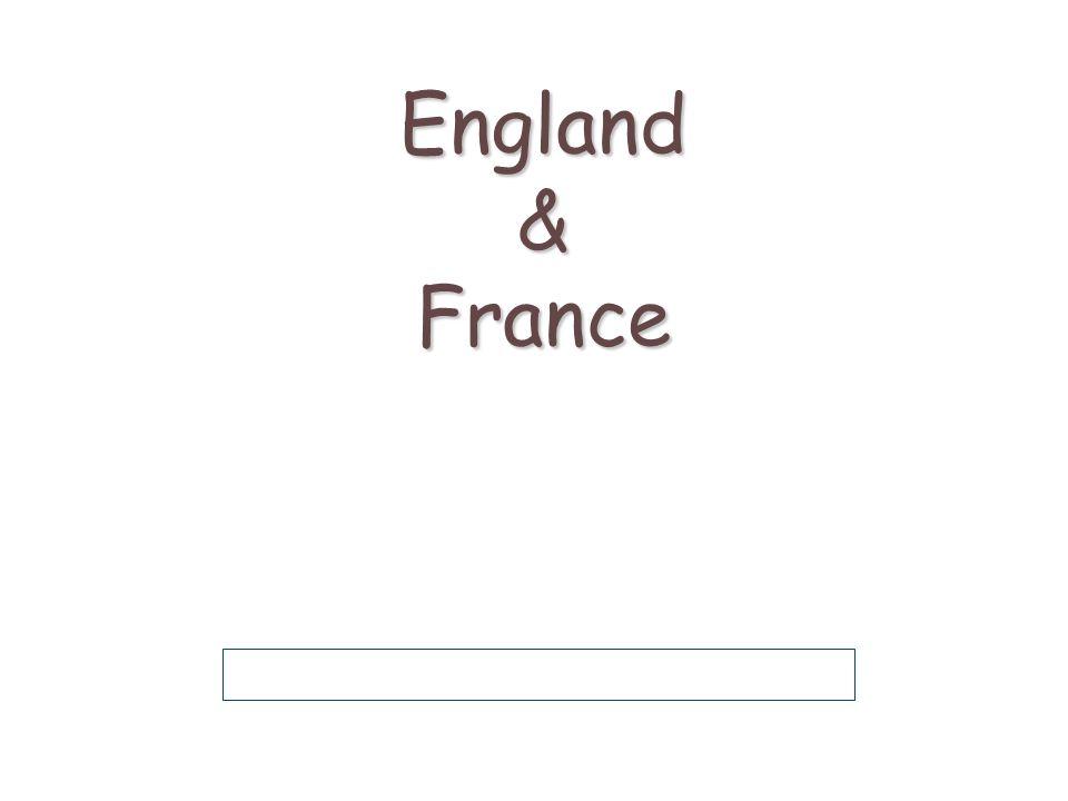 England & France
