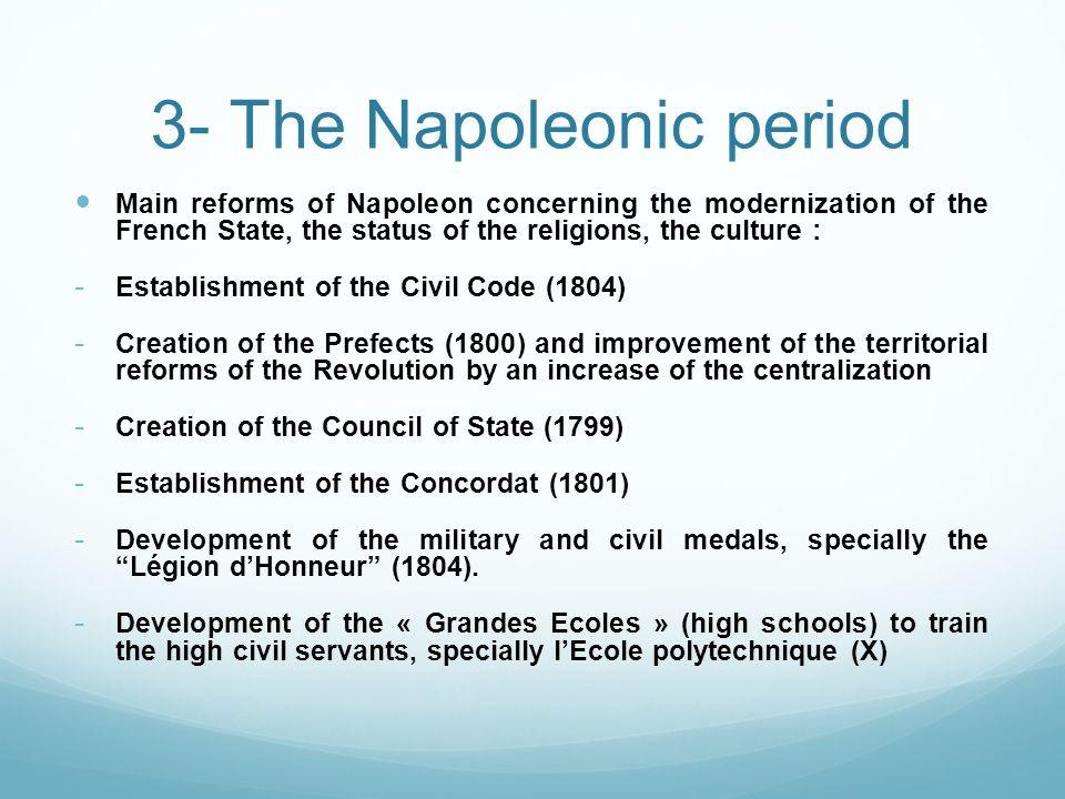 3- The Napoleonic period