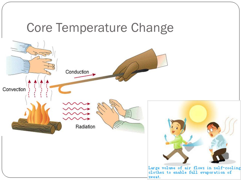 Core Temperature Change