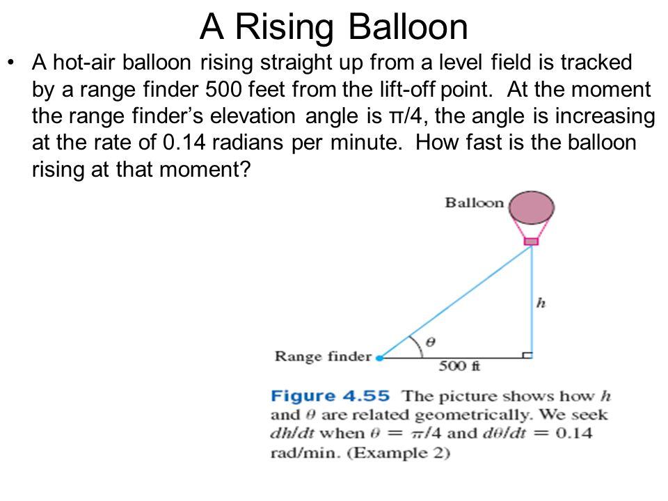 A Rising Balloon