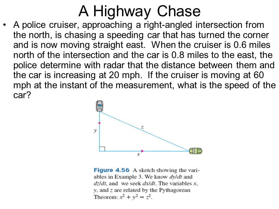 A Highway Chase