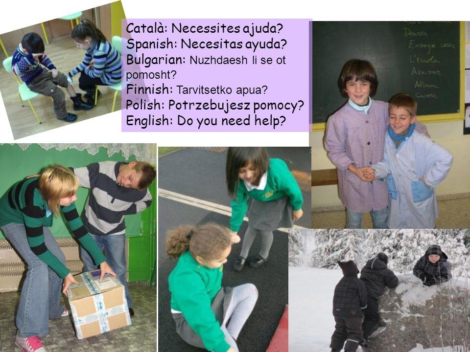 Català: Necessites ajuda