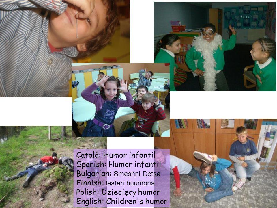 Català: Humor infantil