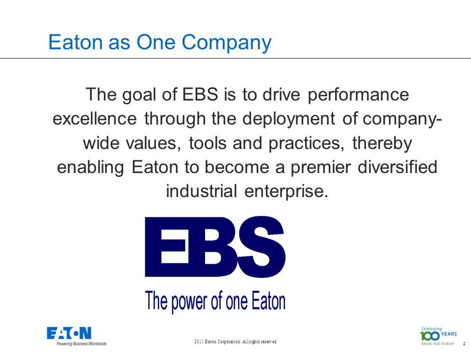 Eaton as One Company