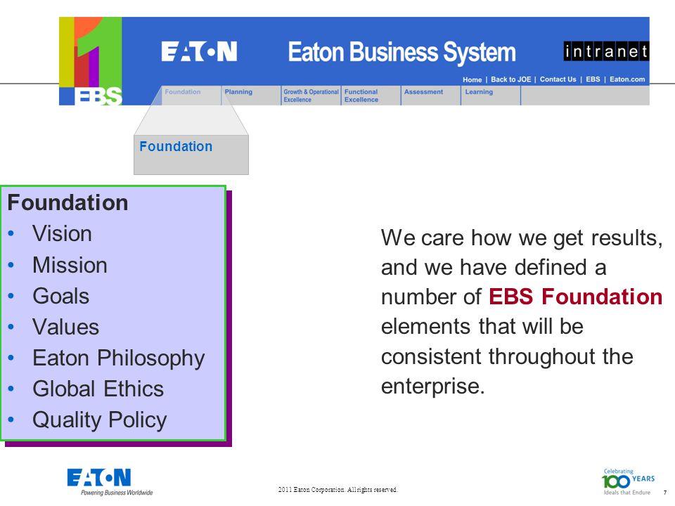 7 Foundation Vision Mission