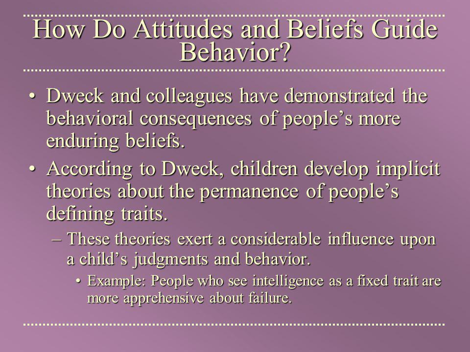 How Do Attitudes Guide Behavior? - Superb Essay Writers