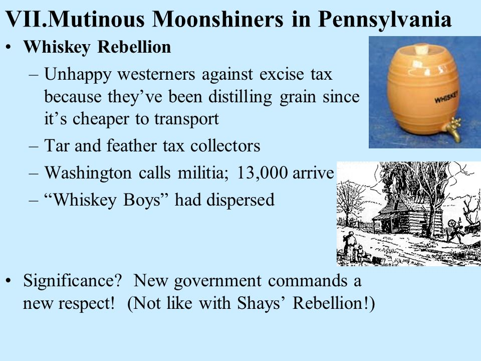 VII.Mutinous Moonshiners in Pennsylvania
