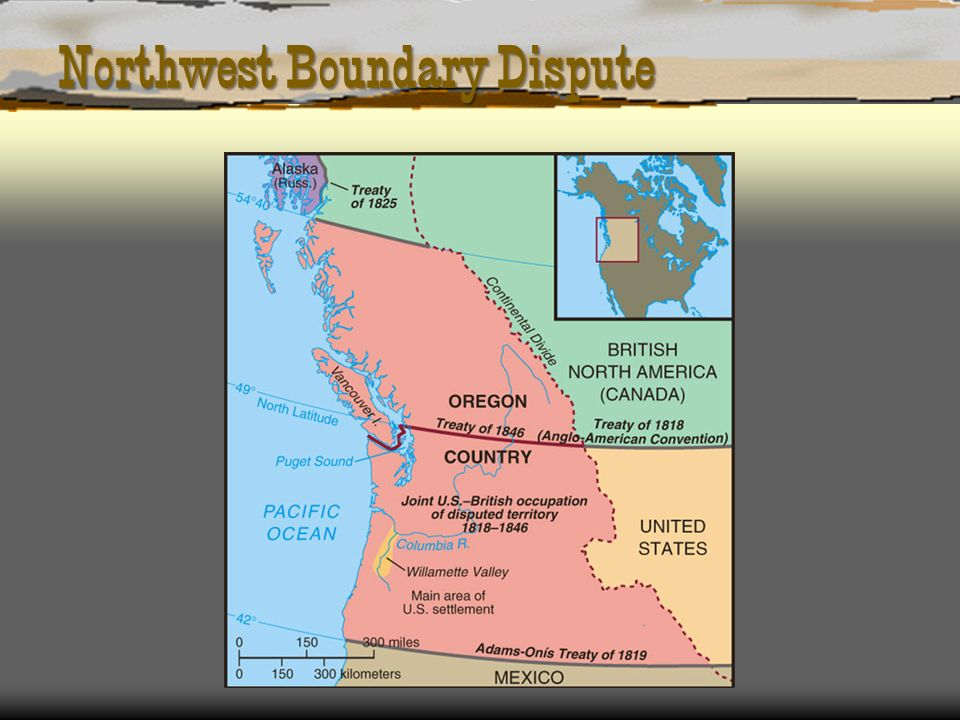 Northwest Boundary Dispute