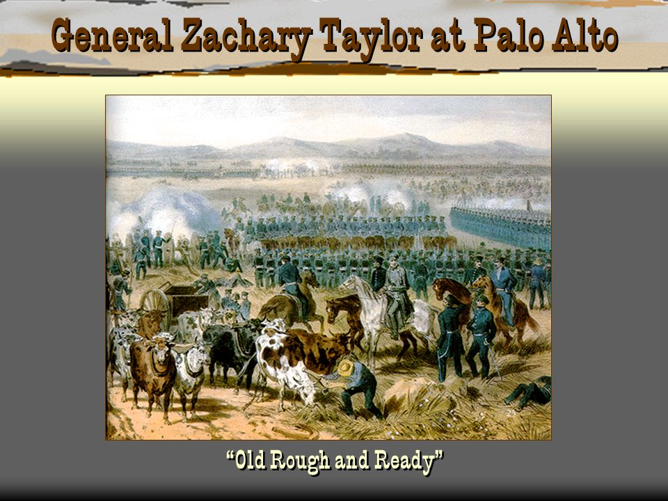 General Zachary Taylor at Palo Alto