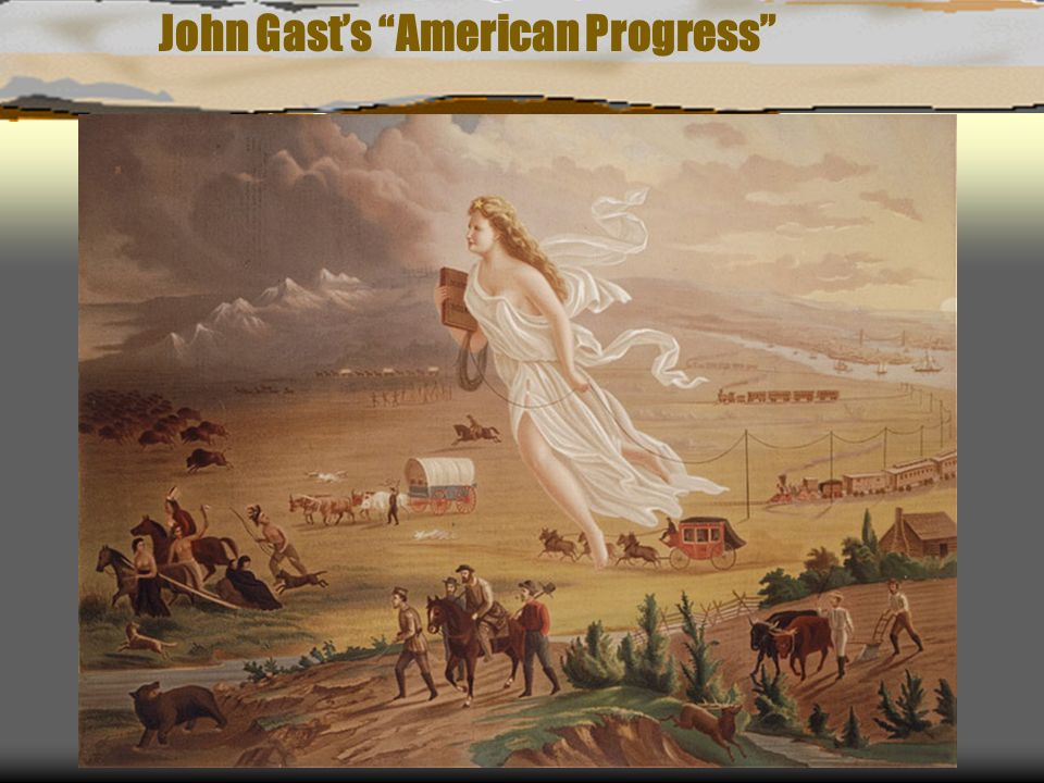 John Gast's American Progress