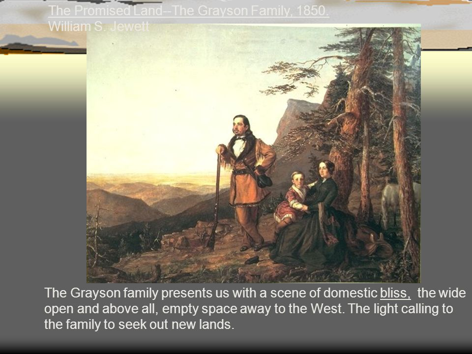 The Promised Land--The Grayson Family, 1850. William S. Jewett