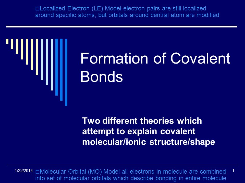formation of covalent bonds Ionic compounds: formation ions: charged particles formed from atoms or groups of covalent compounds are molecules ionic compounds do not have molecules.