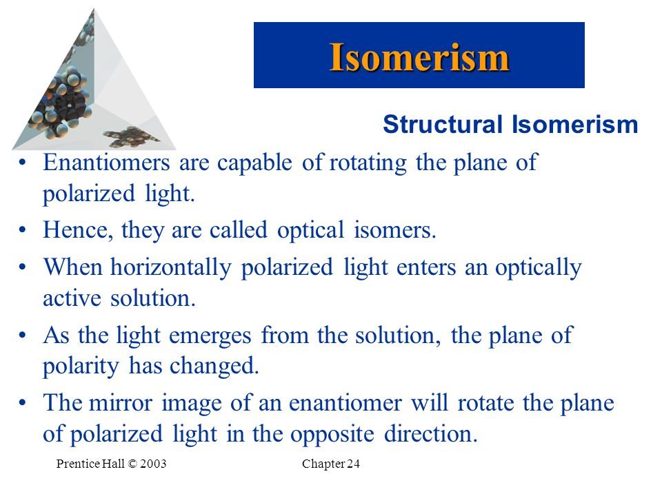 Isomerism Structural Isomerism