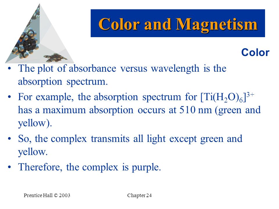 Color and Magnetism Color