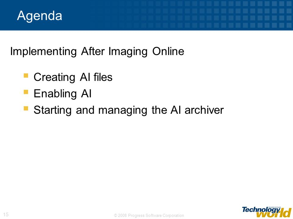 Implementing After Imaging Online