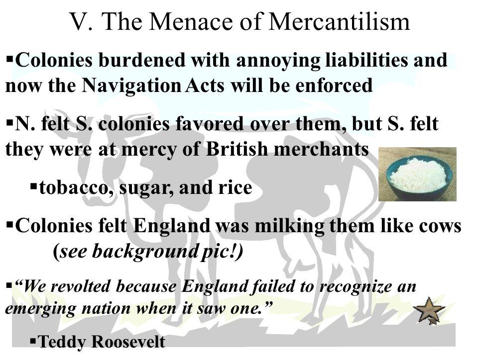 V. The Menace of Mercantilism