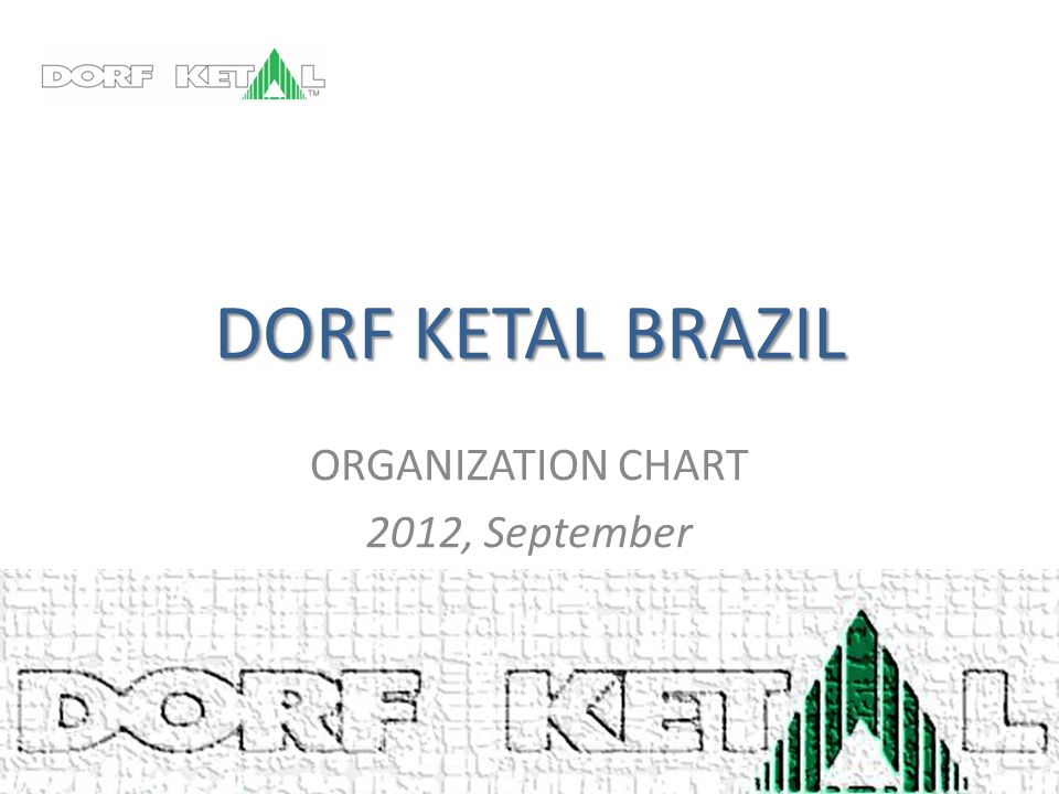 ORGANIZATION CHART 2012, September
