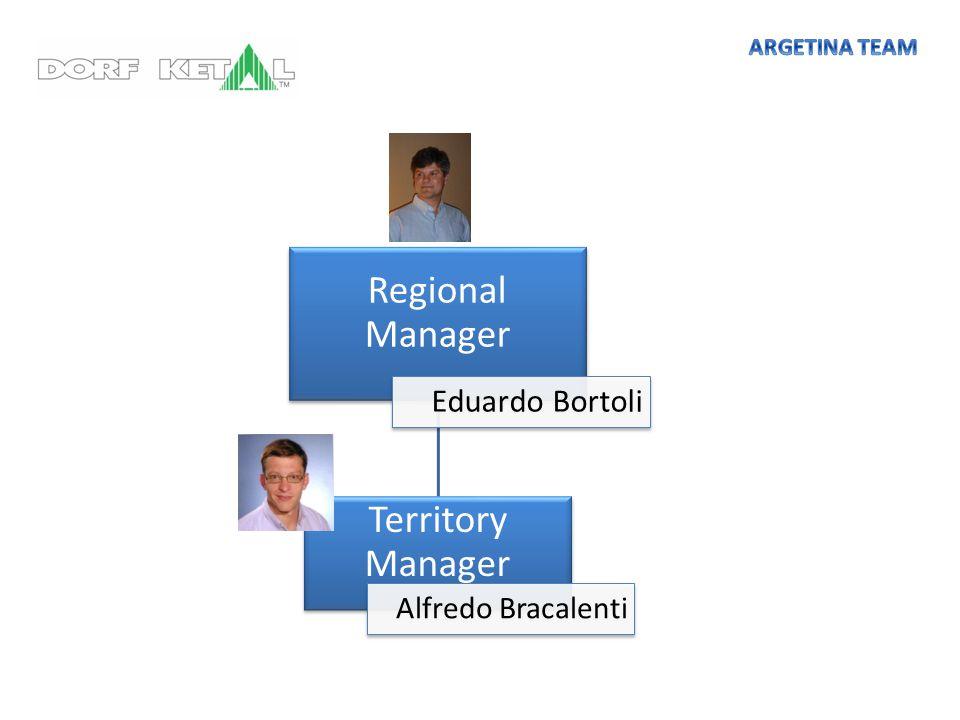 Regional Manager Territory Manager Eduardo Bortoli Alfredo Bracalenti
