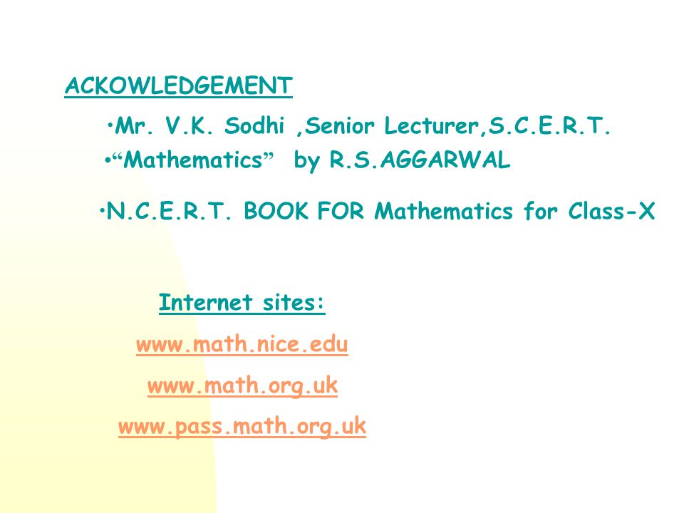 Mr. V.K. Sodhi ,Senior Lecturer,S.C.E.R.T.