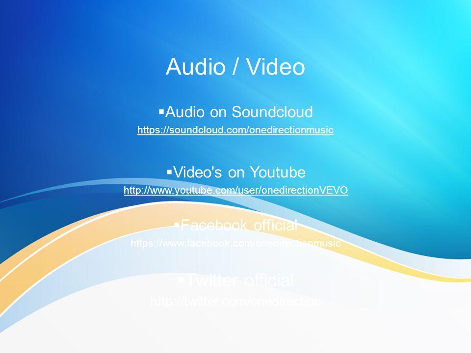 https://soundcloud.com/onedirectionmusic
