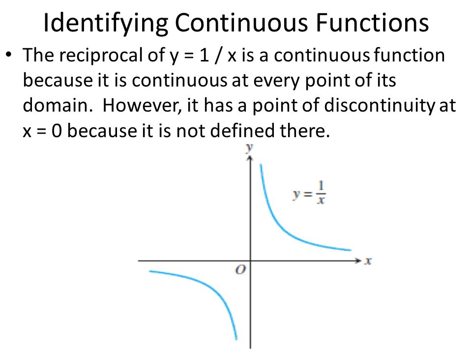 Identifying Continuous Functions