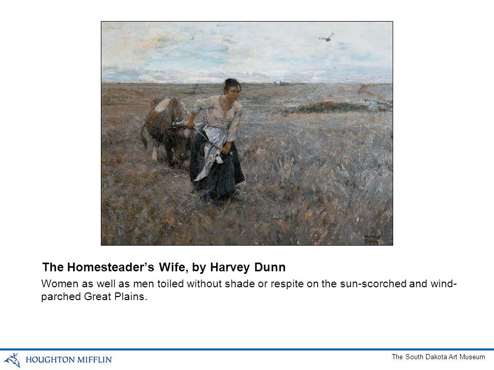 The Homesteader's Wife, by Harvey Dunn
