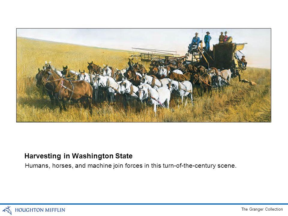 Harvesting in Washington State