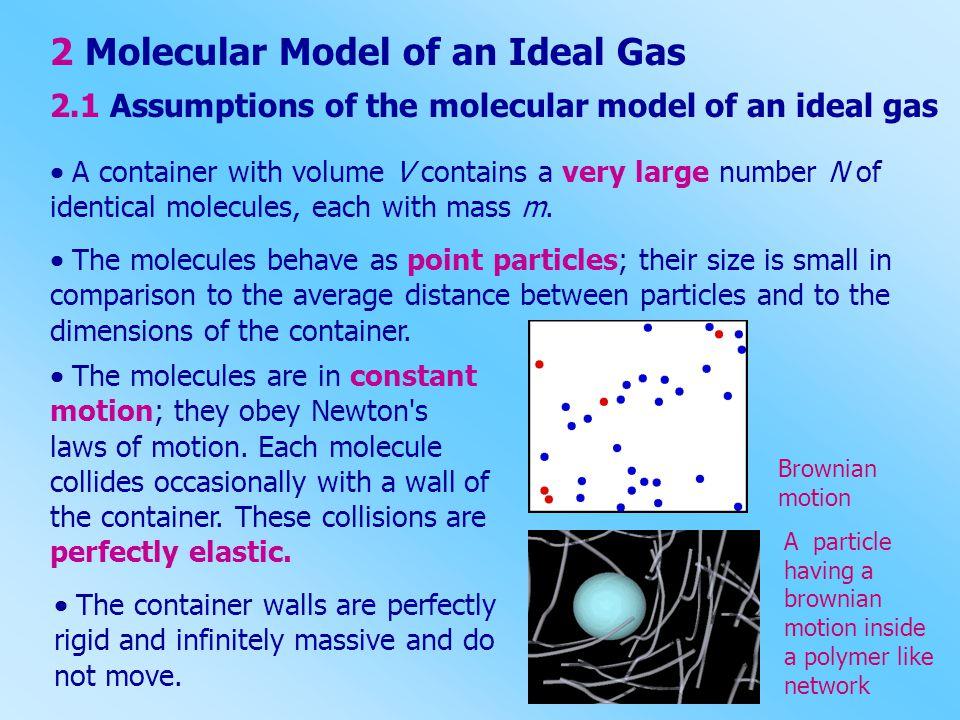 2 Molecular Model of an Ideal Gas