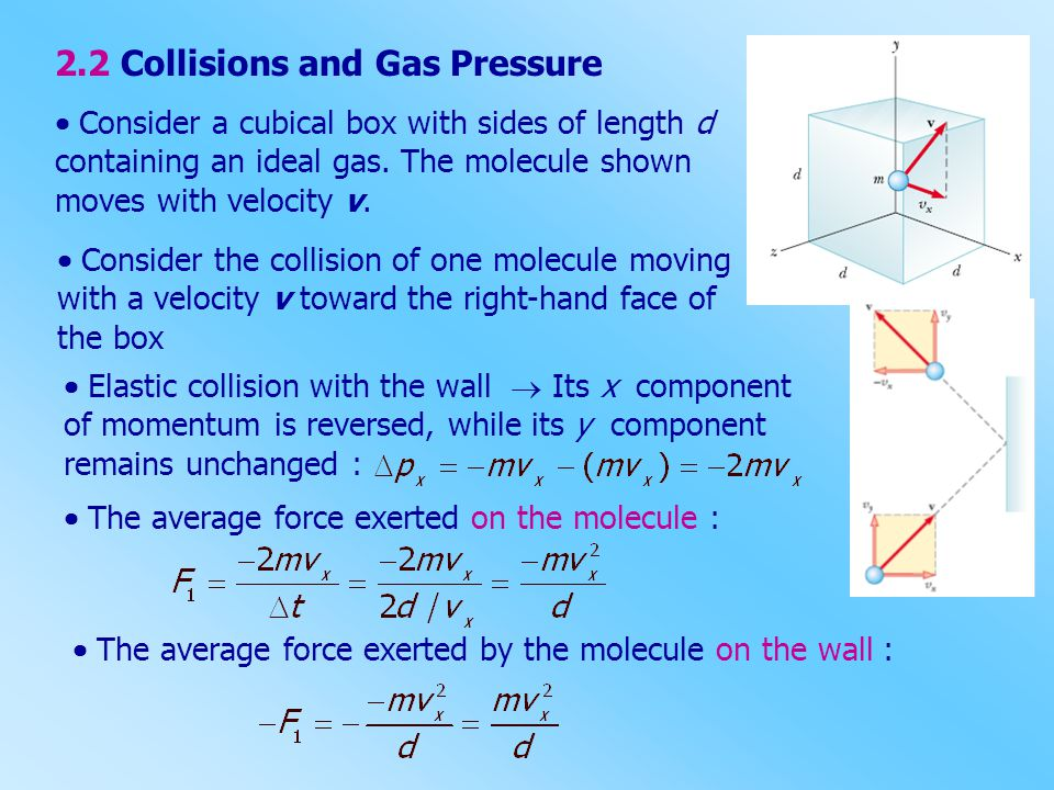 2.2 Collisions and Gas Pressure