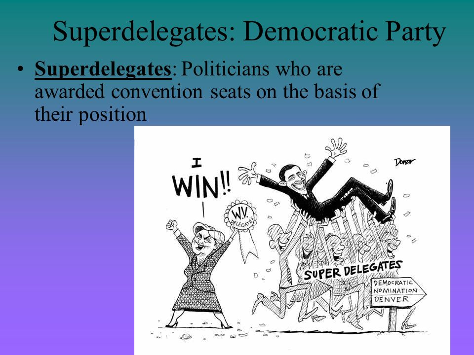 Superdelegates: Democratic Party