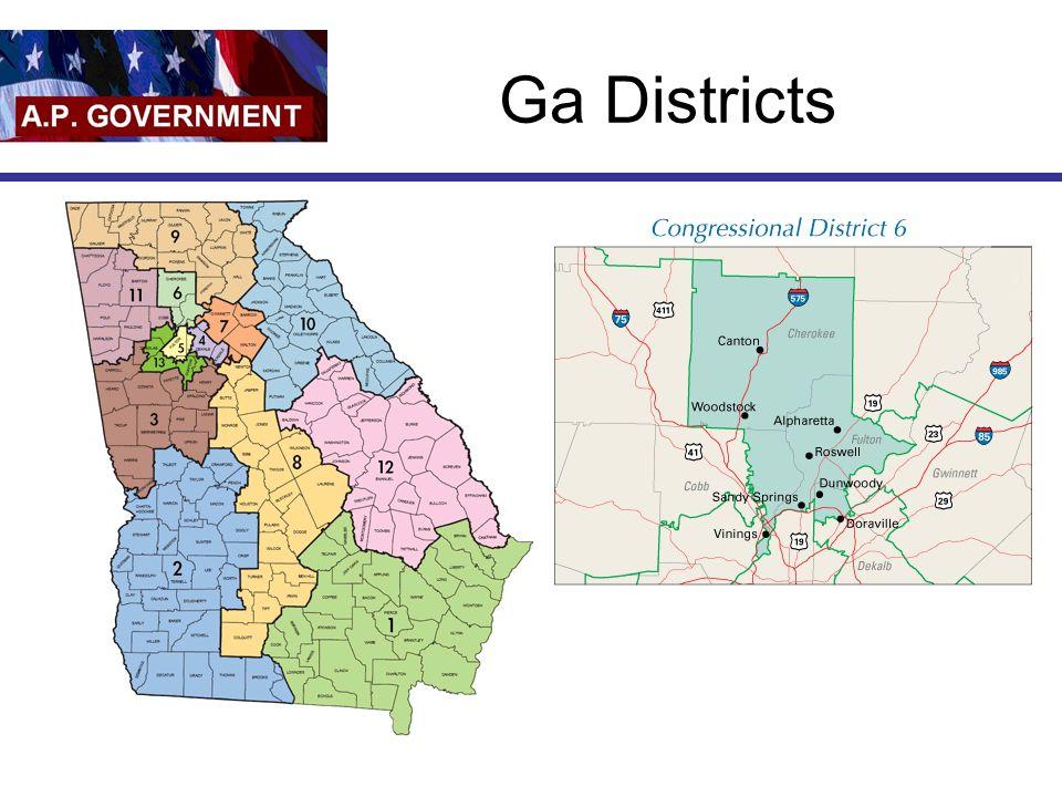 Ga Districts