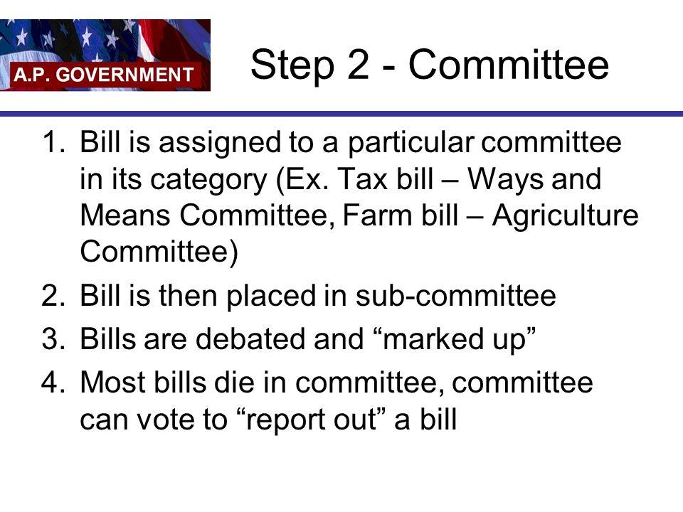Step 2 - Committee