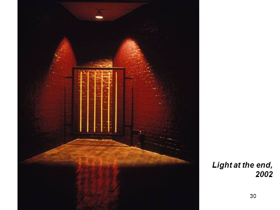 Light at the end, 2002