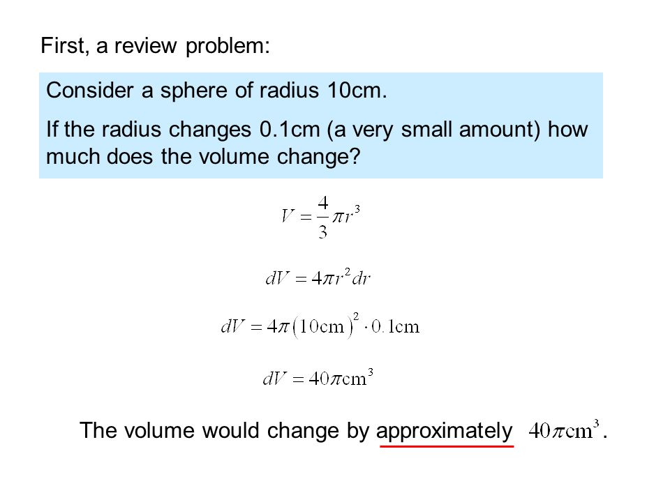 First, a review problem: