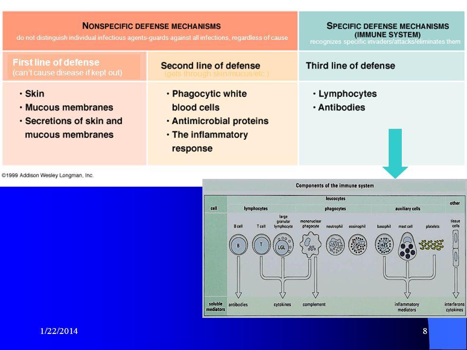 recognizes specific invaders/attacks/eliminates them