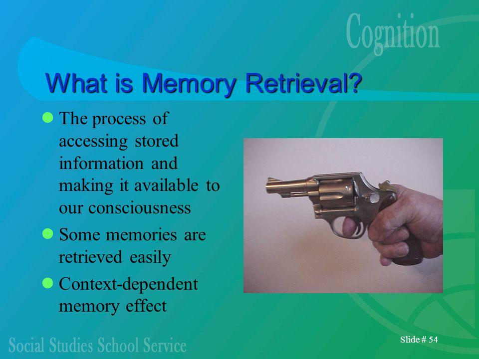 What is Memory Retrieval