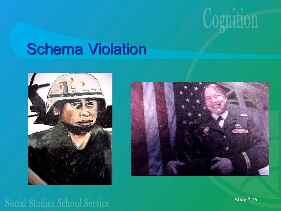 Schema Violation