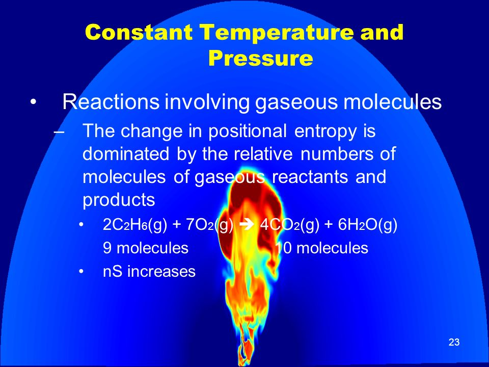 Constant Temperature and Pressure
