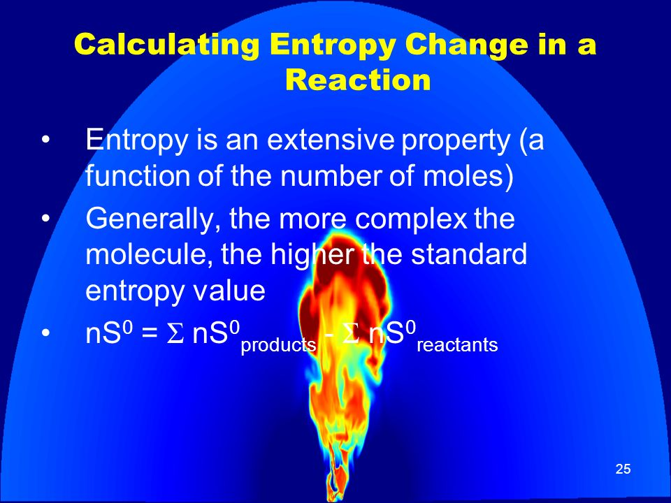 Calculating Entropy Change in a Reaction