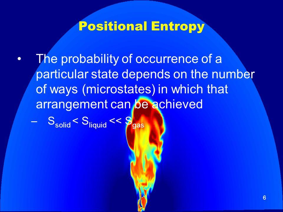 Positional Entropy